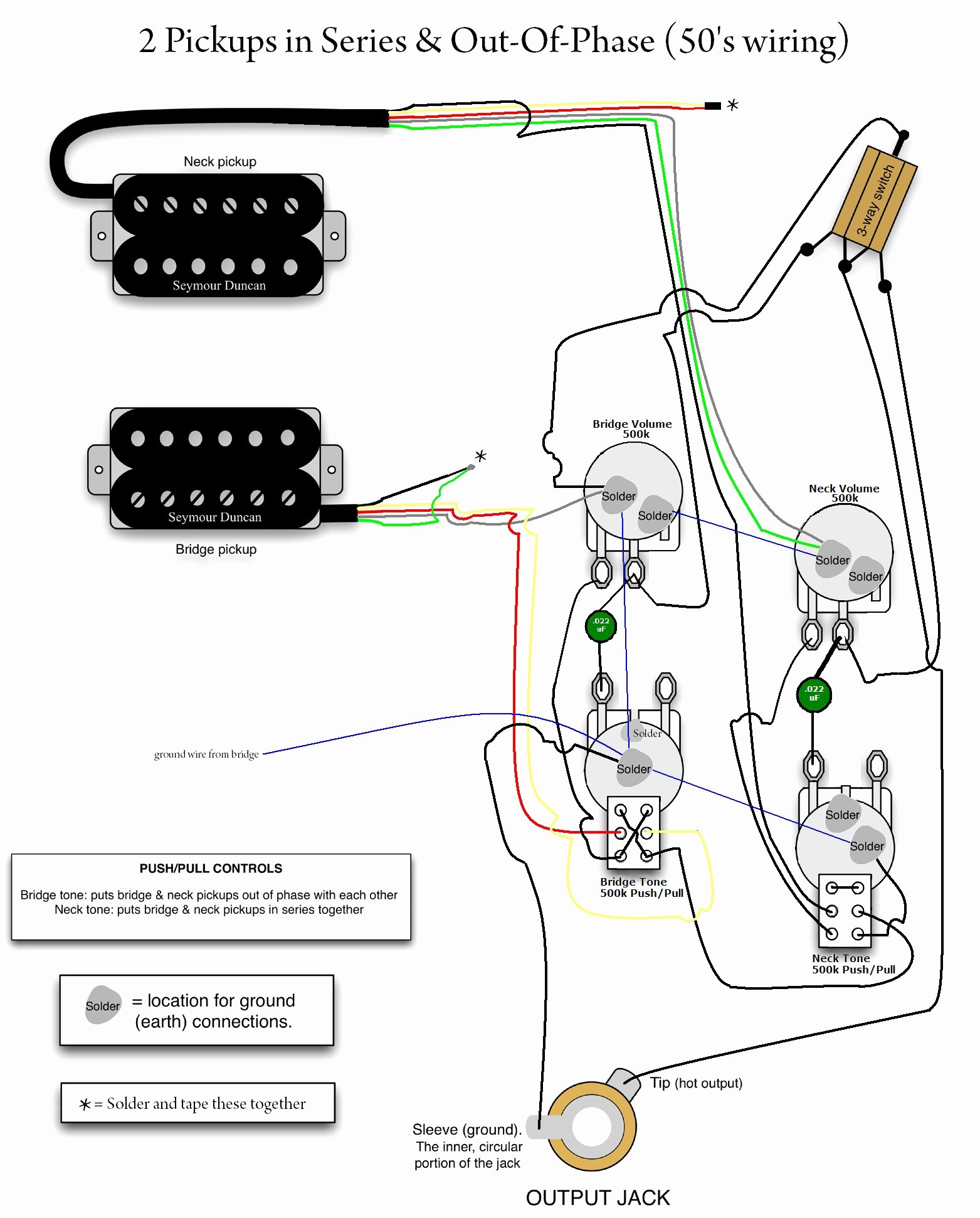 epiphone les paul wiring schematic Collection-Wiring Diagram for EpiPhone Les Paul Guitar Save Wiring Diagram for 3 Pickup Les Paul Save 5-j