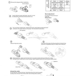 Ethernet Rj45 Wiring Diagram - Rj45 Wiring Diagram for Ethernet New Wiring Diagram for A Cat5 Cable Inspirationa Cable Wire Diagram 18t