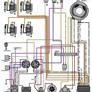Evinrude Wiring Harness Diagram - Evinrude Outboard Wiring Diagram New Evinrude Johnson Outboard Rh Lambdarepos org 10e