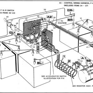 Ez Go Golf Cart Battery Wiring Diagram - Ez Go Wiring Diagram for Golf Cart Health Shop Me 15 6 6f