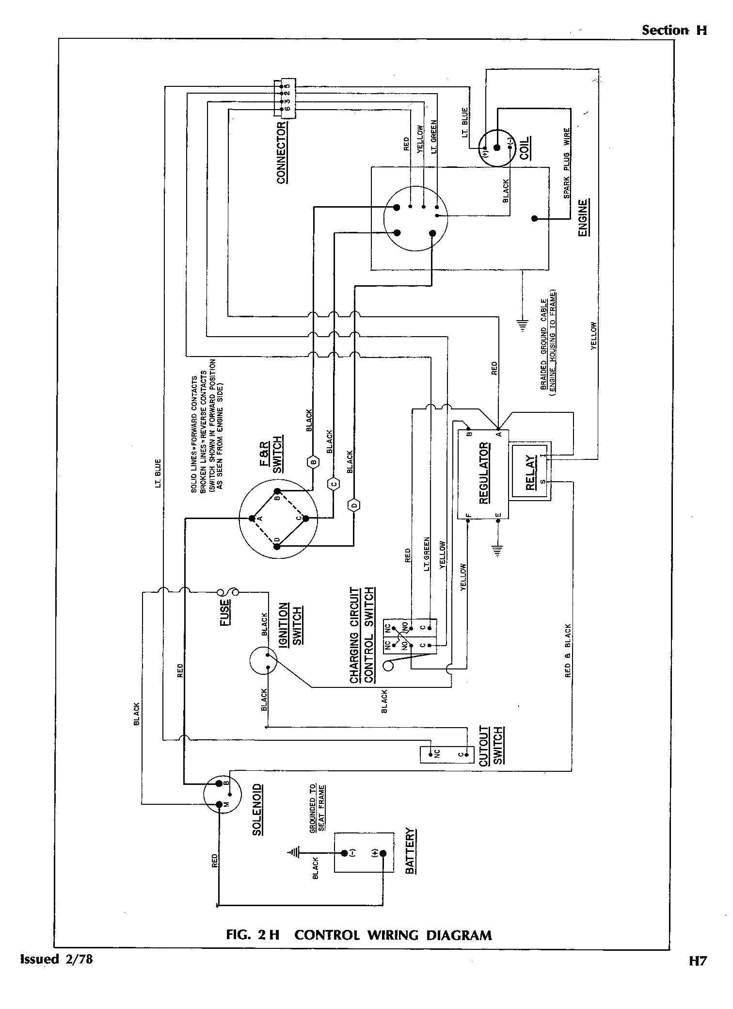 ez go golf cart wiring diagram gas engine Download-Wiring Diagrams for Yamaha Golf Carts Valid Wiring Diagram for 2002 Ezgo Gas Golf Cart Ez 15-s