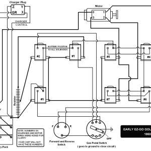 Ezgo Marathon Wiring Diagram - Ezgo Marathon Wiring Diagram 18f