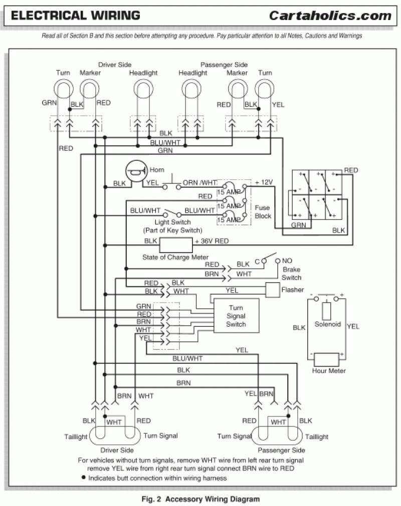 Ezgo Marathon Wiring Diagram | Free Wiring Diagram on