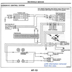 F250 Wiring Diagram - ford solenoid Wiring Diagram Awesome Nissan Sel forums • View topic L4n71b Od at 1983 84 9n