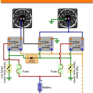 Fan Control Wiring Diagram - Beautiful Electric Fan Relay Wiring Diagram 86 Crutchfield with and for 11c