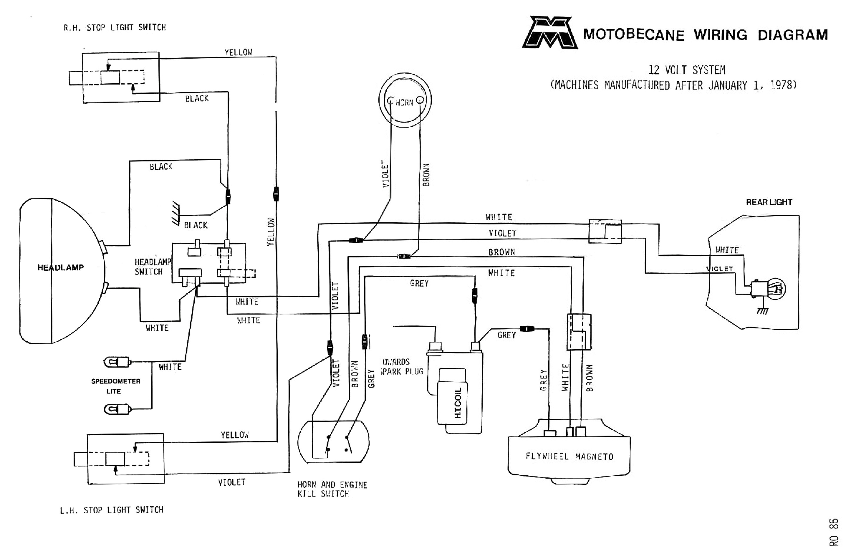 Farmall H 12 Volt Conversion Wiring Diagram Wiring Diagram