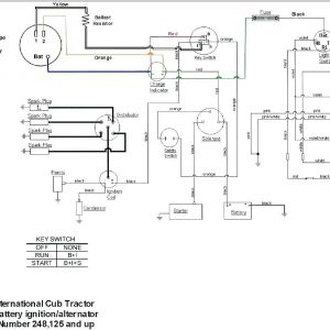 Farmall H 12 Volt Conversion Wiring Diagram | Free Wiring ... on