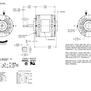 Fasco D701 Wiring Diagram - Hvac Motor Wiring Diagram Inspirationa Wiring Diagram for Fasco Blower Motor Refrence D701 Fasco 12 In 15m