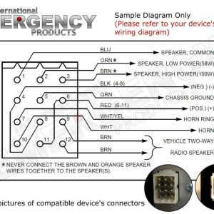 Federal Signal Pa300 Wiring Diagram - Category Wiring Diagram 114 Federal Signal Pa300 Wiring Diagram Sample 20i