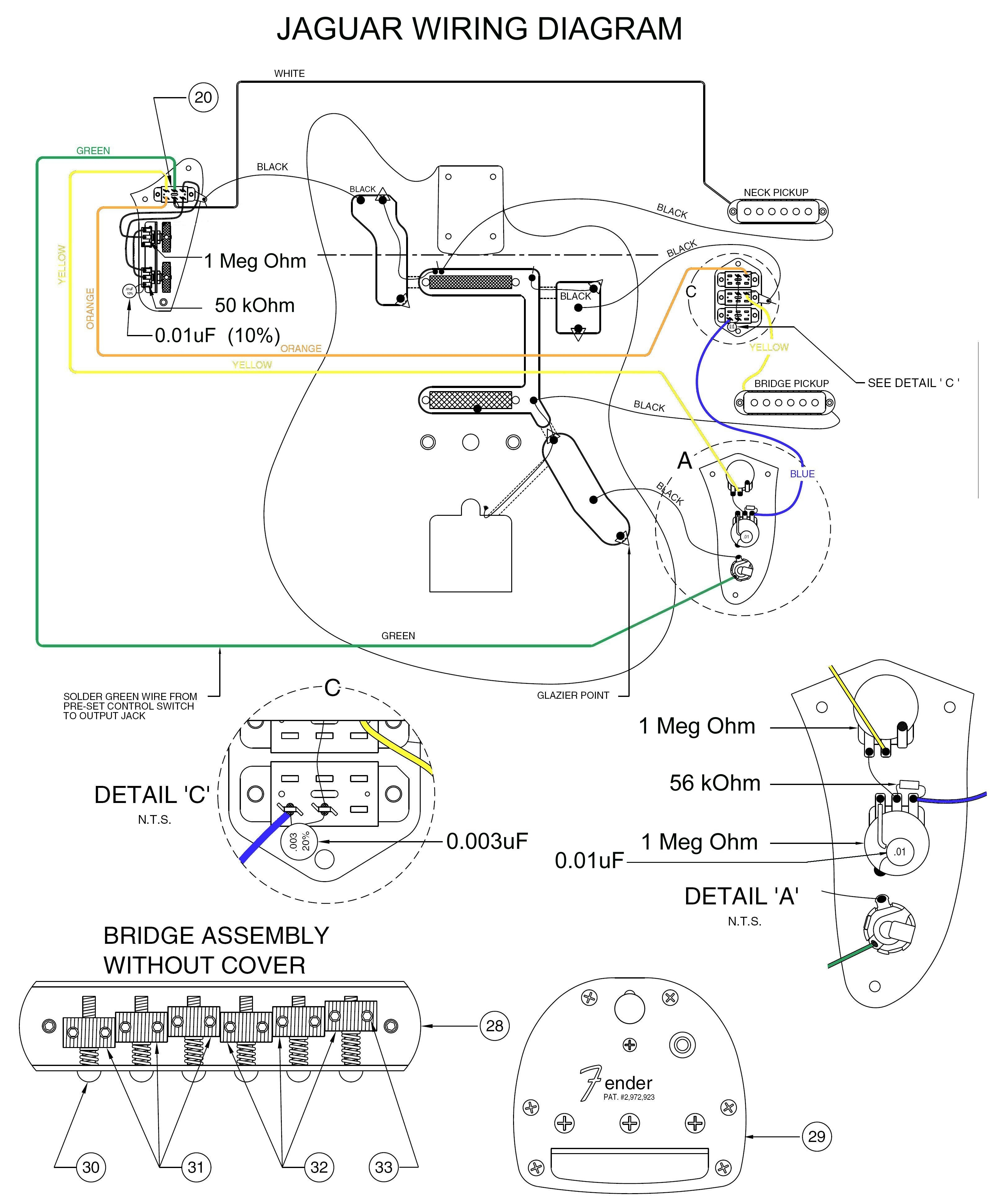 fender jaguar wiring schematic Download-Jaguar Guitar Wiring Diagram Best Wiring Diagram Stratocaster Guitar Inspirationa Fender Jaguar Wiring 7-d