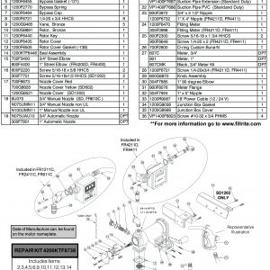 Fill Rite Pump Wiring Diagram - Fill Rite Rebuild Kit Rotor Cover Tuthill Transfer Pump Wiring Diagram 18h