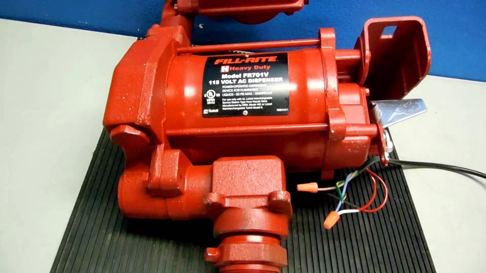 Fill Rite Pump Wiring Diagram