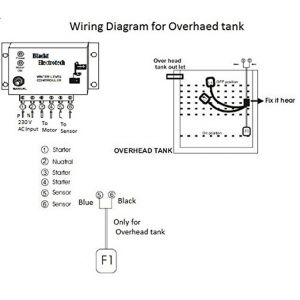 Float Level Switch Wiring Diagram - Float Level Switch Wiring Diagram Blackt Electrotech Automatic Water Level Controller with Float Switch Sensor 11d