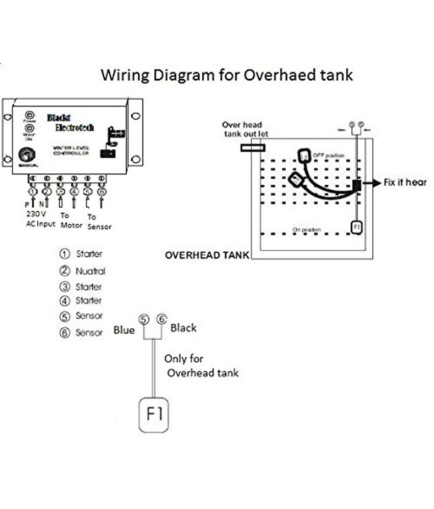 float level switch wiring diagram Download-Float Level Switch Wiring Diagram Blackt Electrotech Automatic Water Level Controller with Float Switch Sensor 10-p