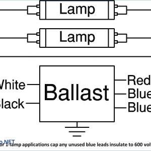 Fluorescent Ballast Wiring Diagram - 2 Lamp Ballast Wiring Diagram Unique 6g