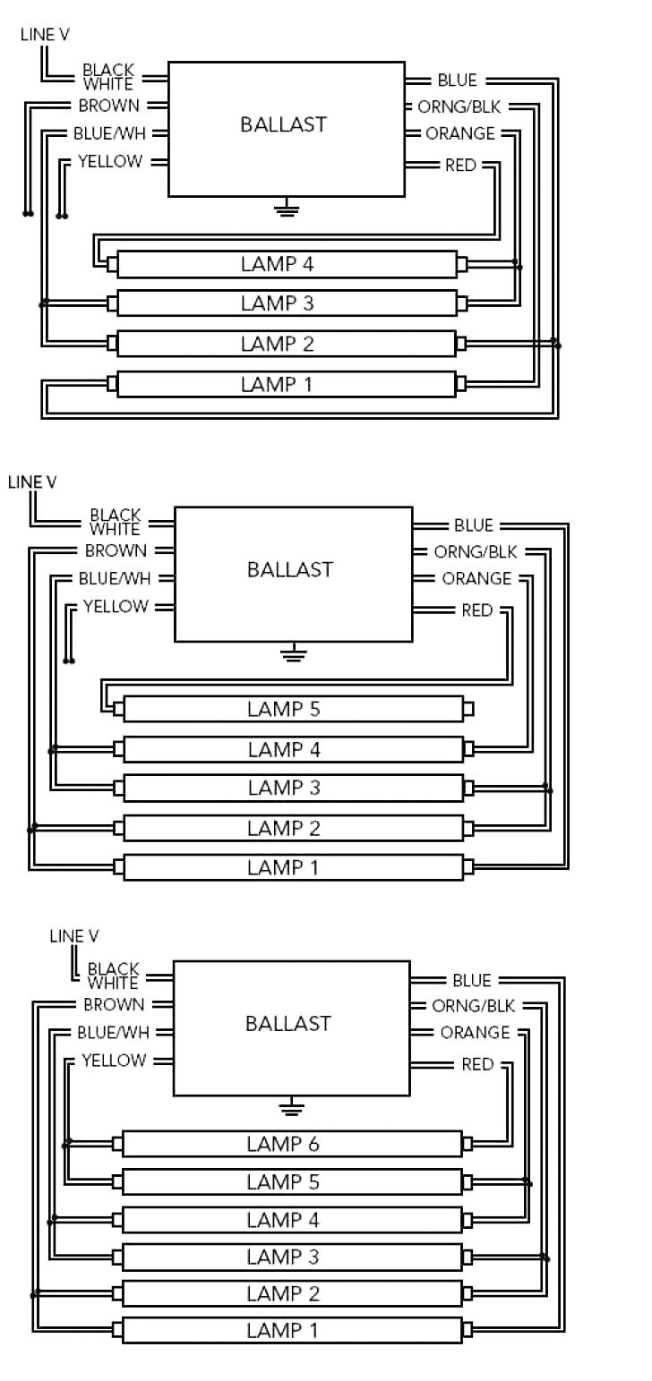 fluorescent emergency ballast wiring diagram | free wiring ... ballast wire diagram fluorescent ballast wiring diagram 3 wire #6