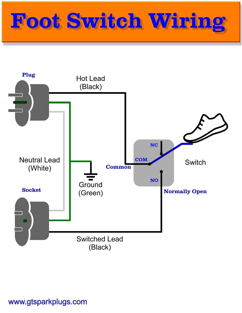 foot switch wiring diagram Collection-Foot Switch Wiring Diagram 2-q