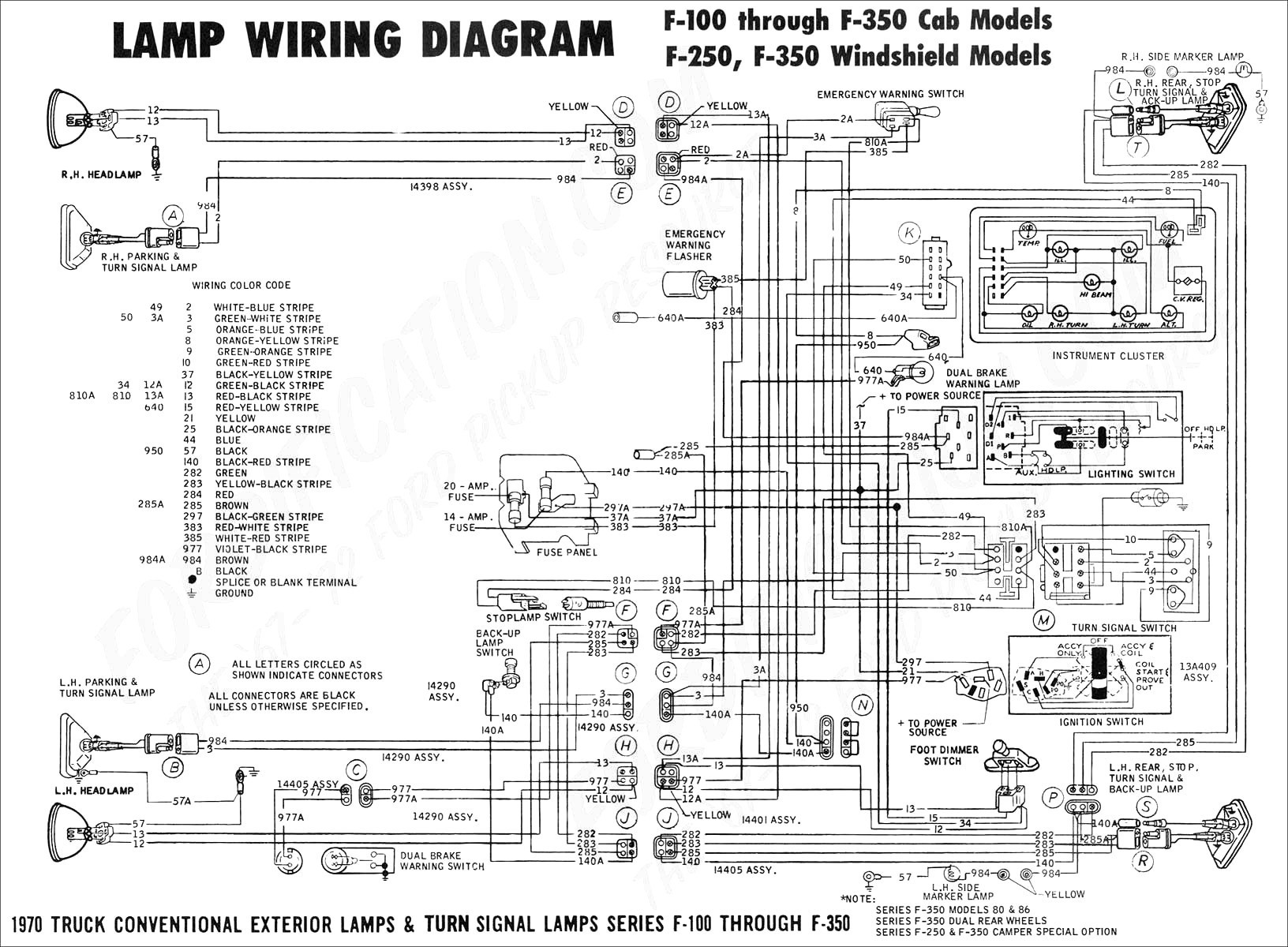 Ford F 150 Wiring Harnes Diagram 1979