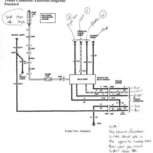 Ford 7 Pin Trailer Wiring Diagram - 7 Wire Trailer Wiring Diagram Best ford F350 Westmagazine 0 19a