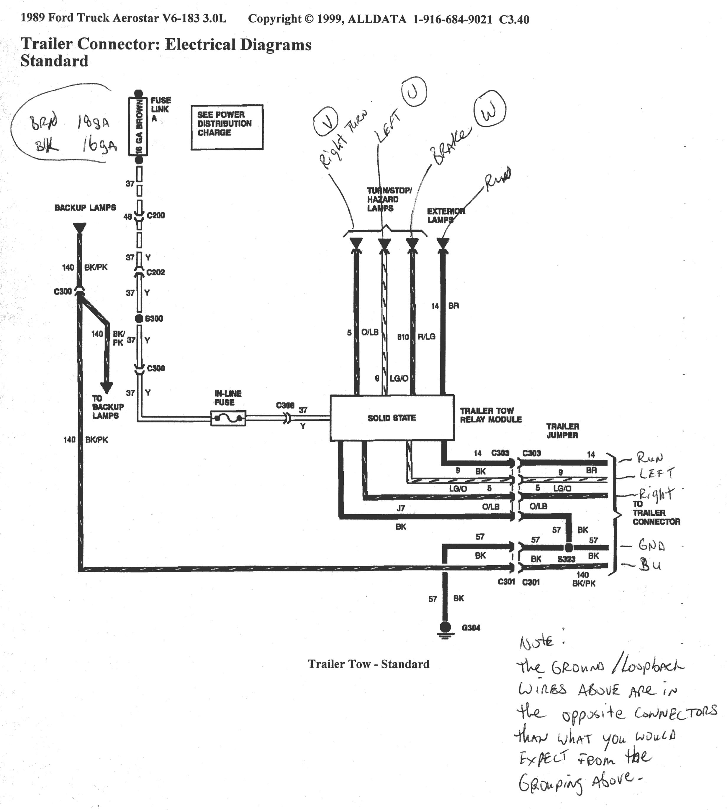 ford 7 pin trailer wiring diagram Collection-7 Wire Trailer Wiring Diagram Best Ford F350 Westmagazine 0 18-q