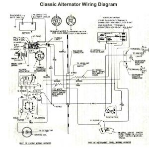 Ford Alternator Wiring Diagram Internal Regulator - Alternator Wiring Diagram Internal Regulator Refrence ford Alternator Wiring Diagram External Regulator 8l