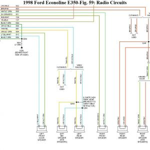 Ford Econoline Radio Wiring Diagram | Free Wiring Diagram on