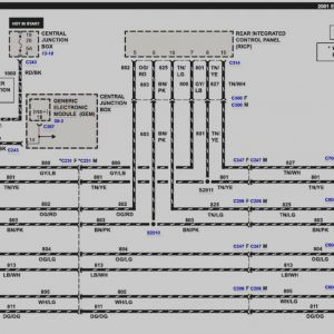 Radio Wiring Diagram 1998 Ford E 350. . Wiring Diagram on