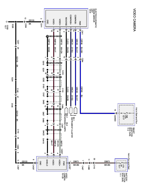 Ford F150 Backup Camera Wiring Diagram