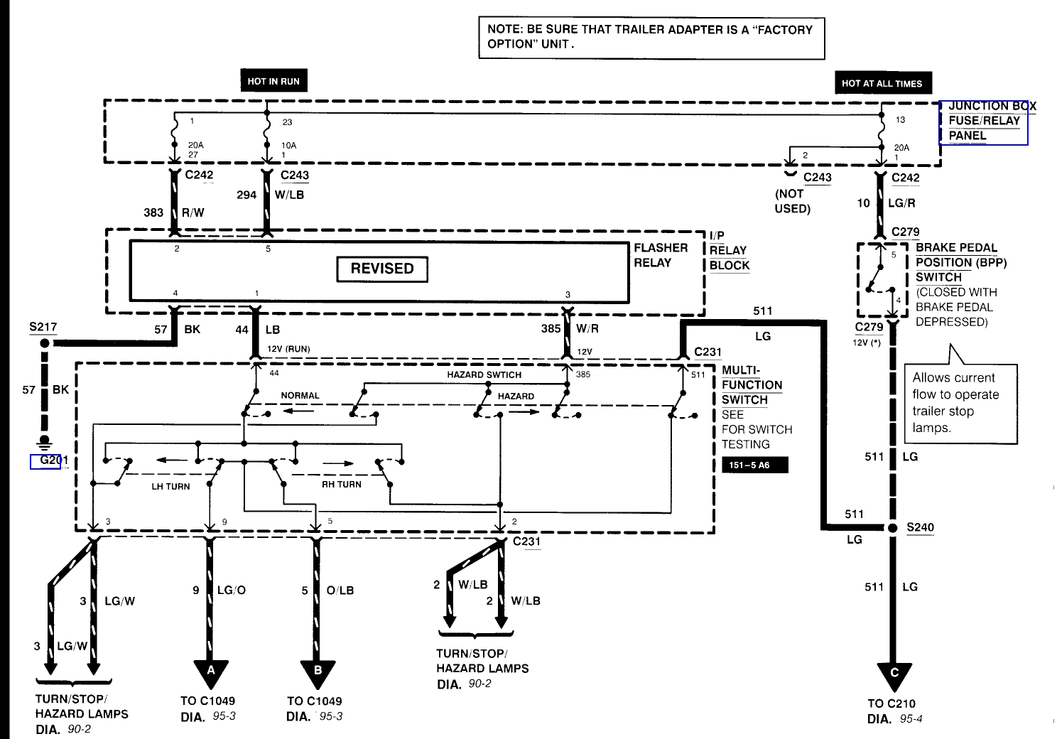 Ford F250 Trailer Wiring Harness Diagram | Free Wiring Diagram