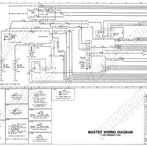 Ford F250 Wiring Diagram - 1973 1979 ford Truck Wiring Diagrams & Schematics fordification 1991 E4od Od button Wiring ford 14s