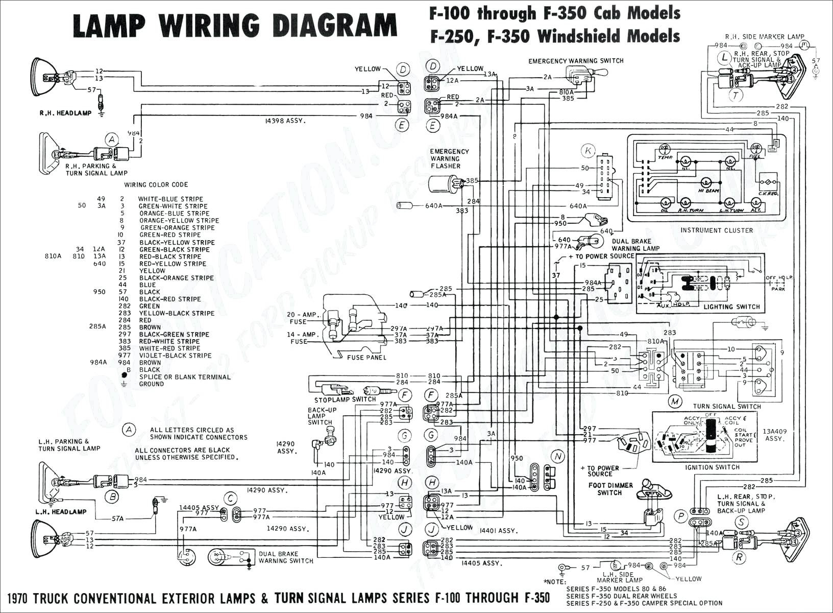 Ford F350 Radio Wiring Diagram | Free Wiring Diagram