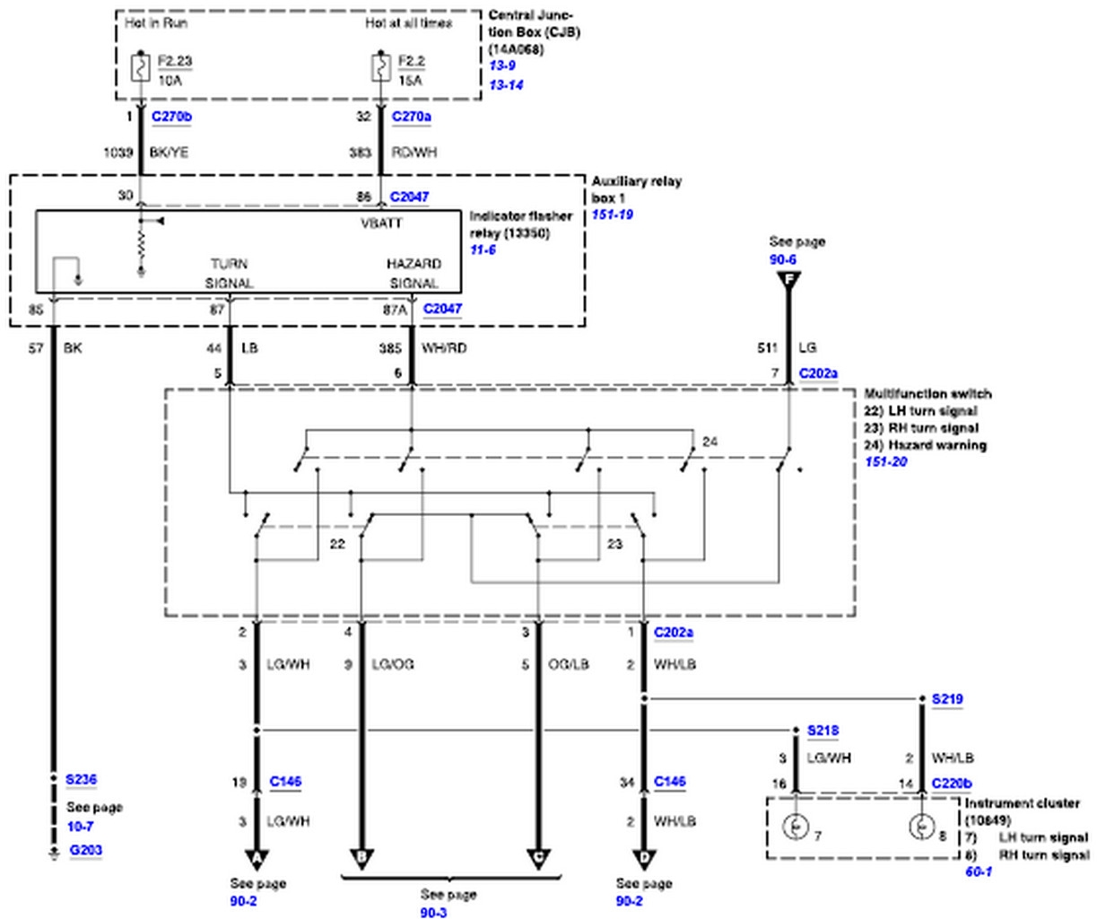 ford f650 wiring diagram Download-graphic 6-n