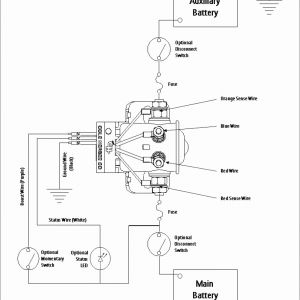 Ford One Wire Alternator Wiring Diagram - E Wire Alternator Wiring Diagram ford Inspirational Battery Switch Wiring Diagram at Rv Disconnect with within 12f