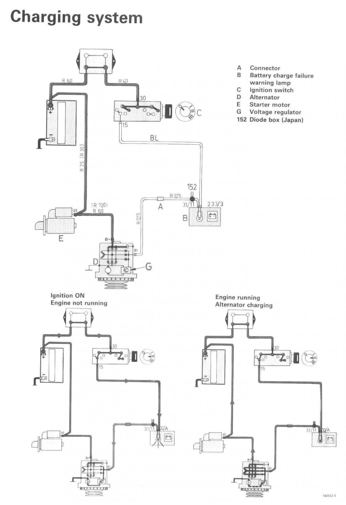 Ford 1 Wire Alternator Diagram
