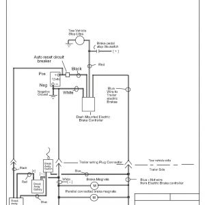 Ford Trailer Brake Controller Wiring Diagram - Trailer Brake Controller Wiring Diagram Simple Model Curt Circuit 17r