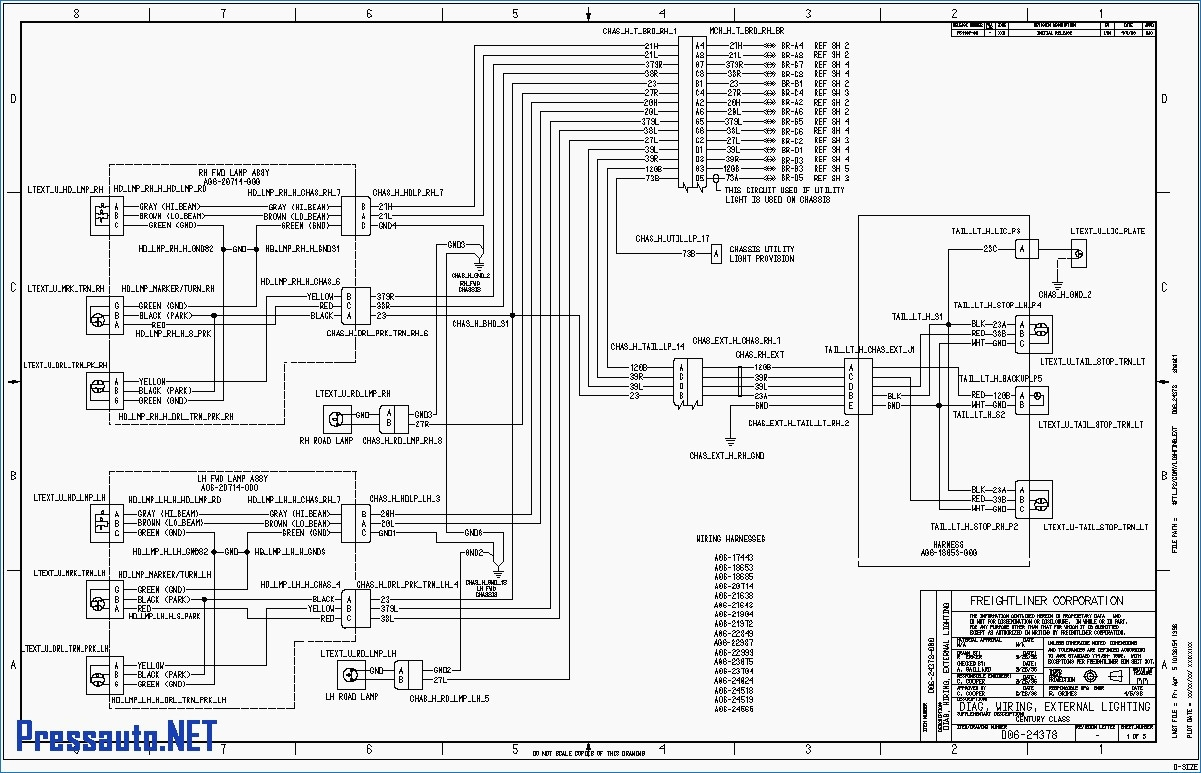 freightliner cascadia radio wiring diagram | free wiring ... 110v schematic wiring diagram free download schematic