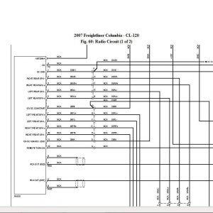 Freightliner Cascadia Radio Wiring Diagram - Freightliner Columbia Wiring Diagram Wire Center U2022 Rh 140 82 51 249 Freightliner Ac Wiring Diagram 20d