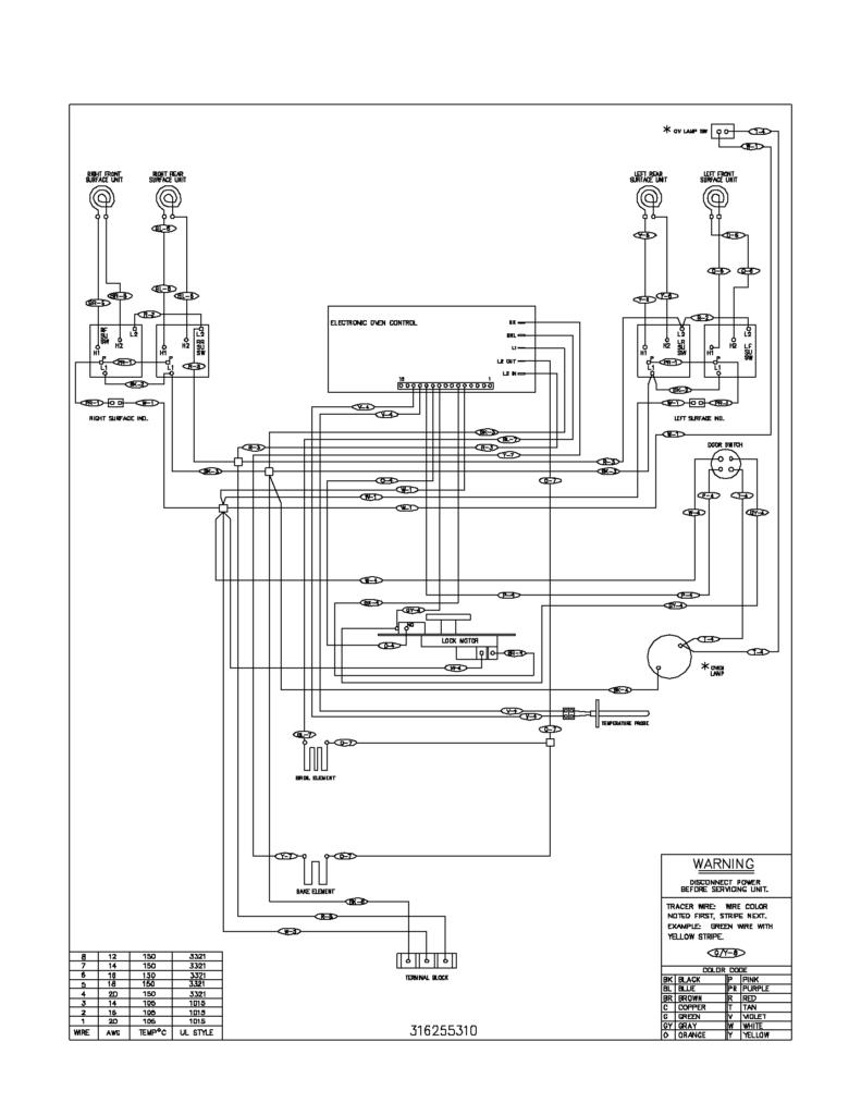 frigidaire dryer wiring diagram