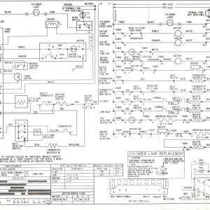 Frigidaire Dryer Wiring Diagram - Kenmore Series Electric Dryer Wiring Diagram Schematic 12l