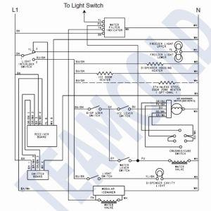Frigidaire Ice Maker Wiring Diagram - Ice Maker Dispenser On Ice Maker Dispenser Wiring Diagram Wire Rh Insurapro Co 10d