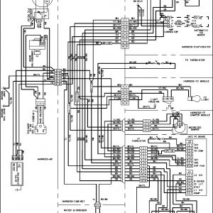 Frigidaire Refrigerator Wiring Diagram - Frigidaire Freezer Wiring Diagram Fresh Amana Refrigerator Parts Model Abc2037dps 17o