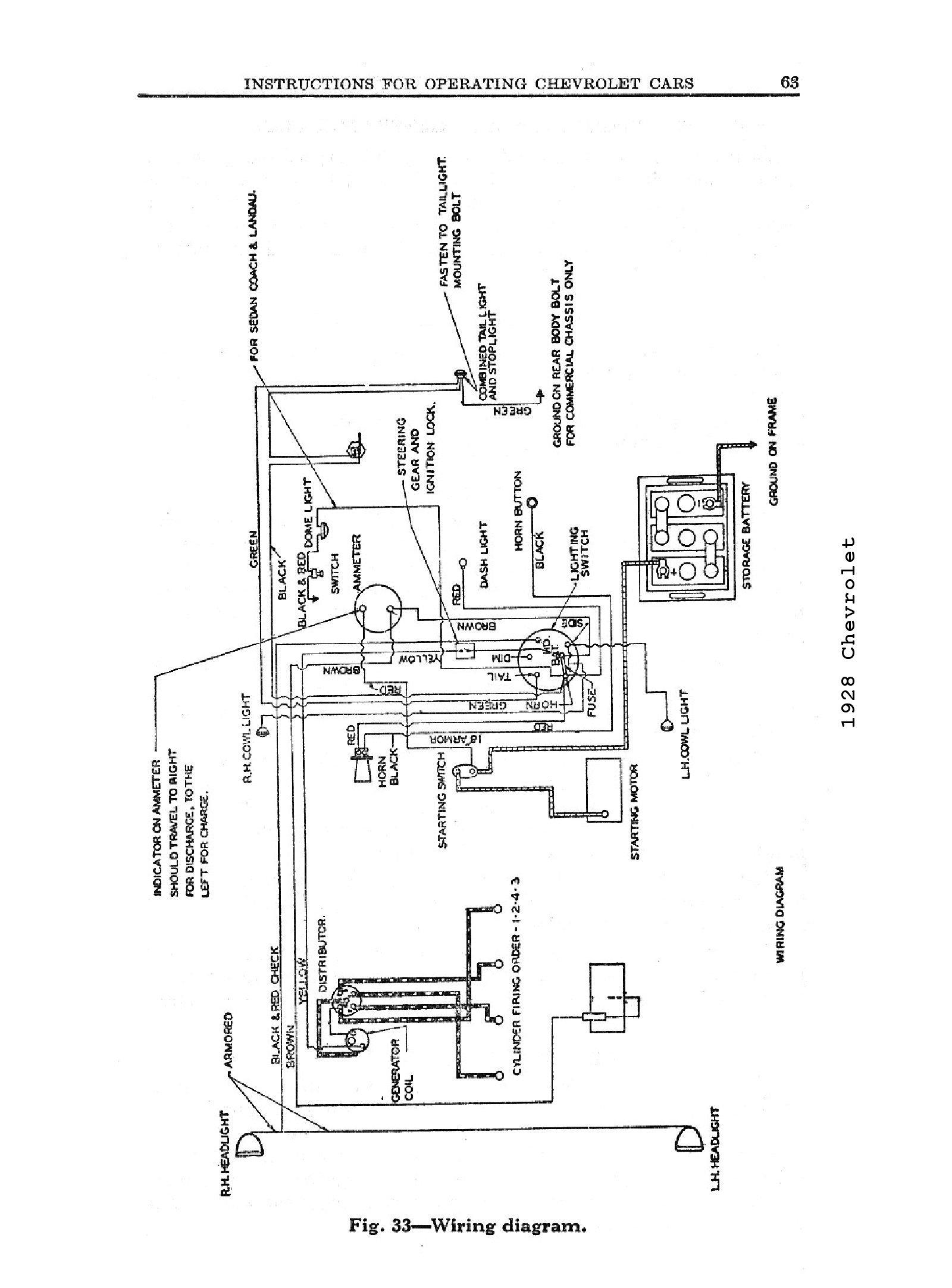 Fuel Gauge Wiring Diagram Chevy