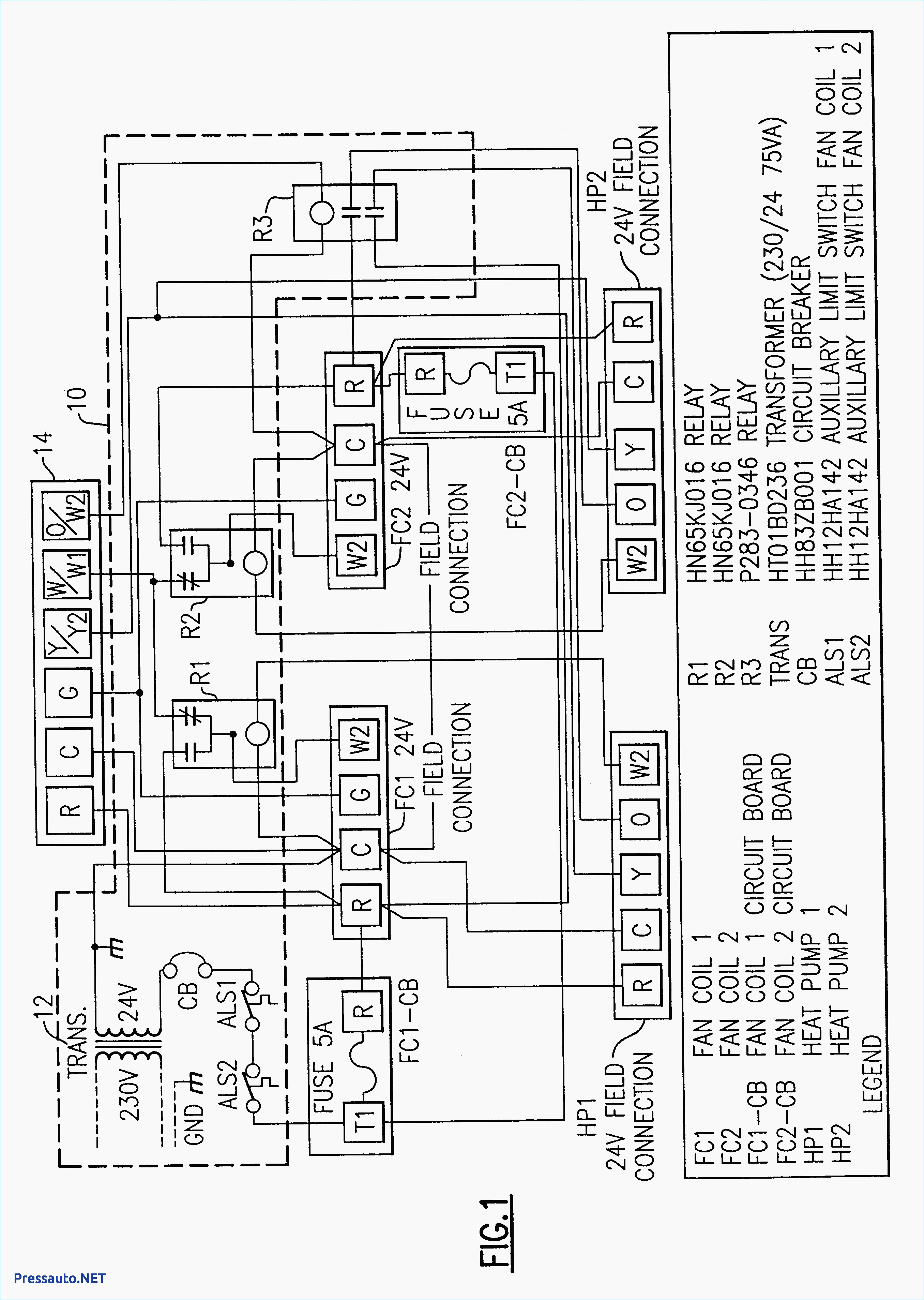 Fujitsu Mini Split Heat Pump Wiring Diagram | Free Wiring