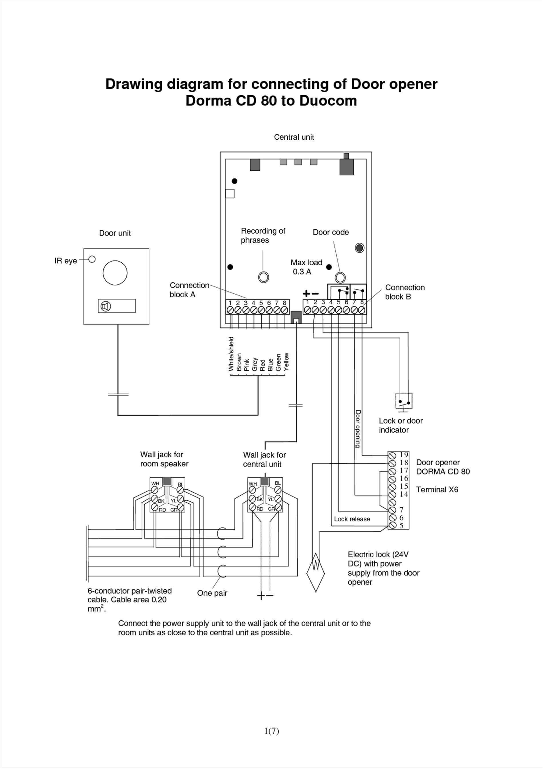 garage door opener wiring diagram Download-Wiring Diagram for Stanley Garage Door Opener Fresh Sears Craftsman Garage Door Opener Wiring Diagram Download 9-h