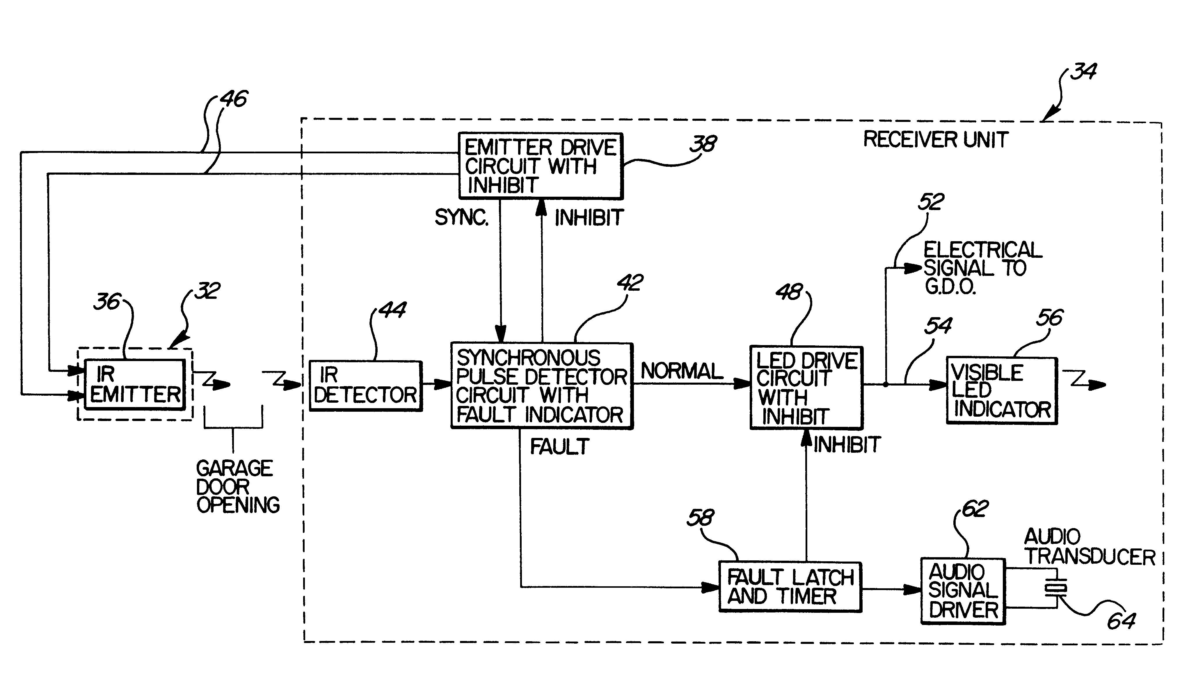 garage door safety sensor wiring diagram Download-Wiring Diagram For Lift Master Safety Sensors Data And Garage Door Sensor Schematic 2-f