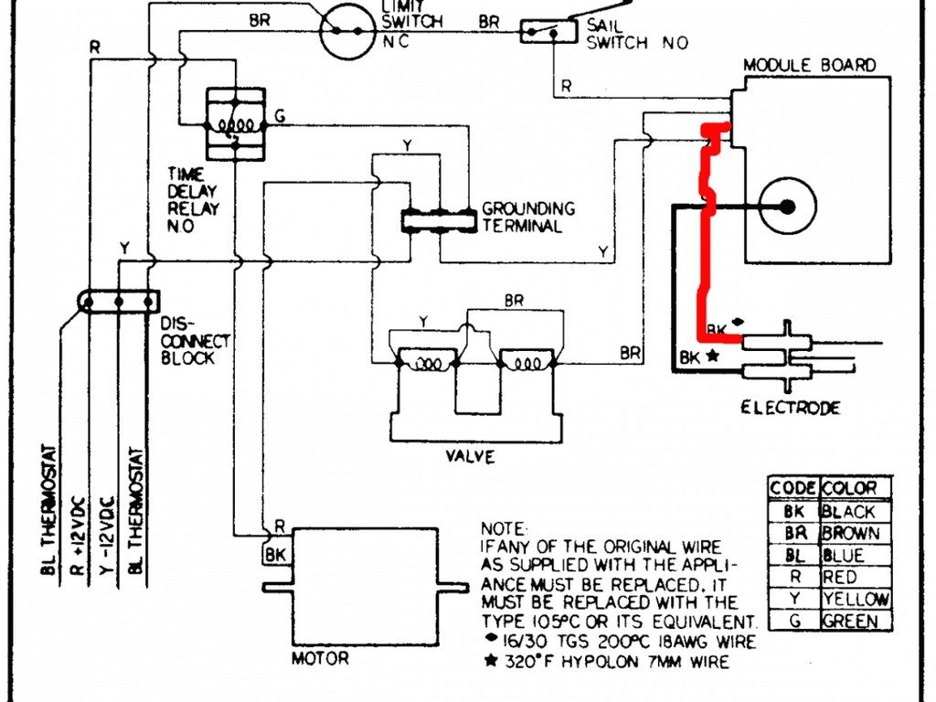 gas furnace control board wiring diagram