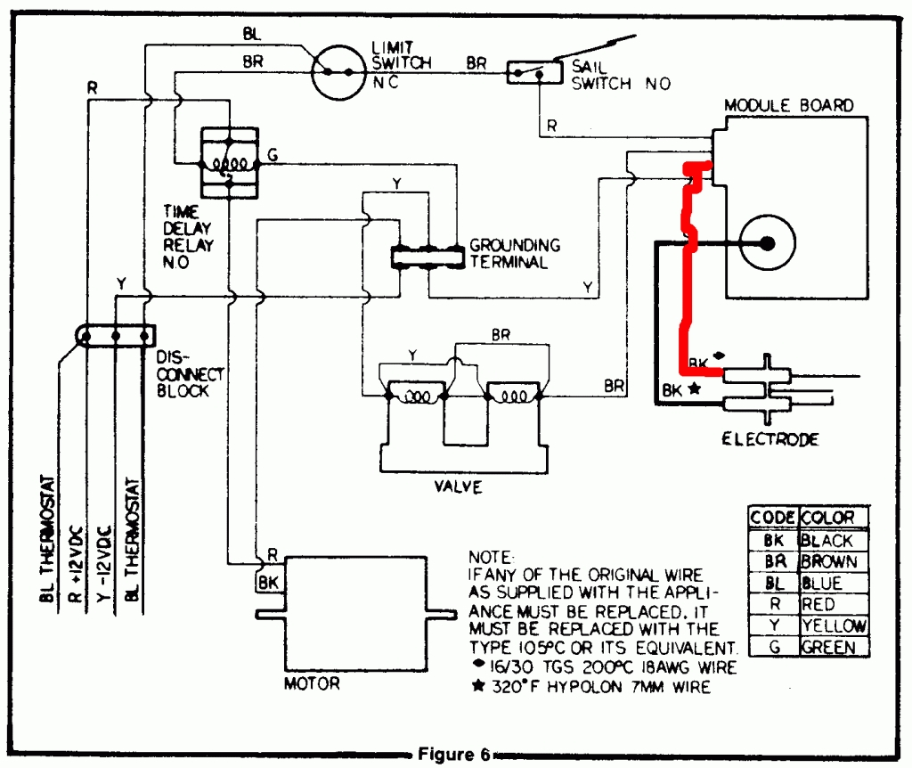 gas furnace thermostat wiring diagram free wiring diagram. Black Bedroom Furniture Sets. Home Design Ideas