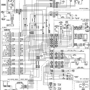 Ge Dryer Wiring Diagram - Ge Refrigerator Wiring Schematic 14p
