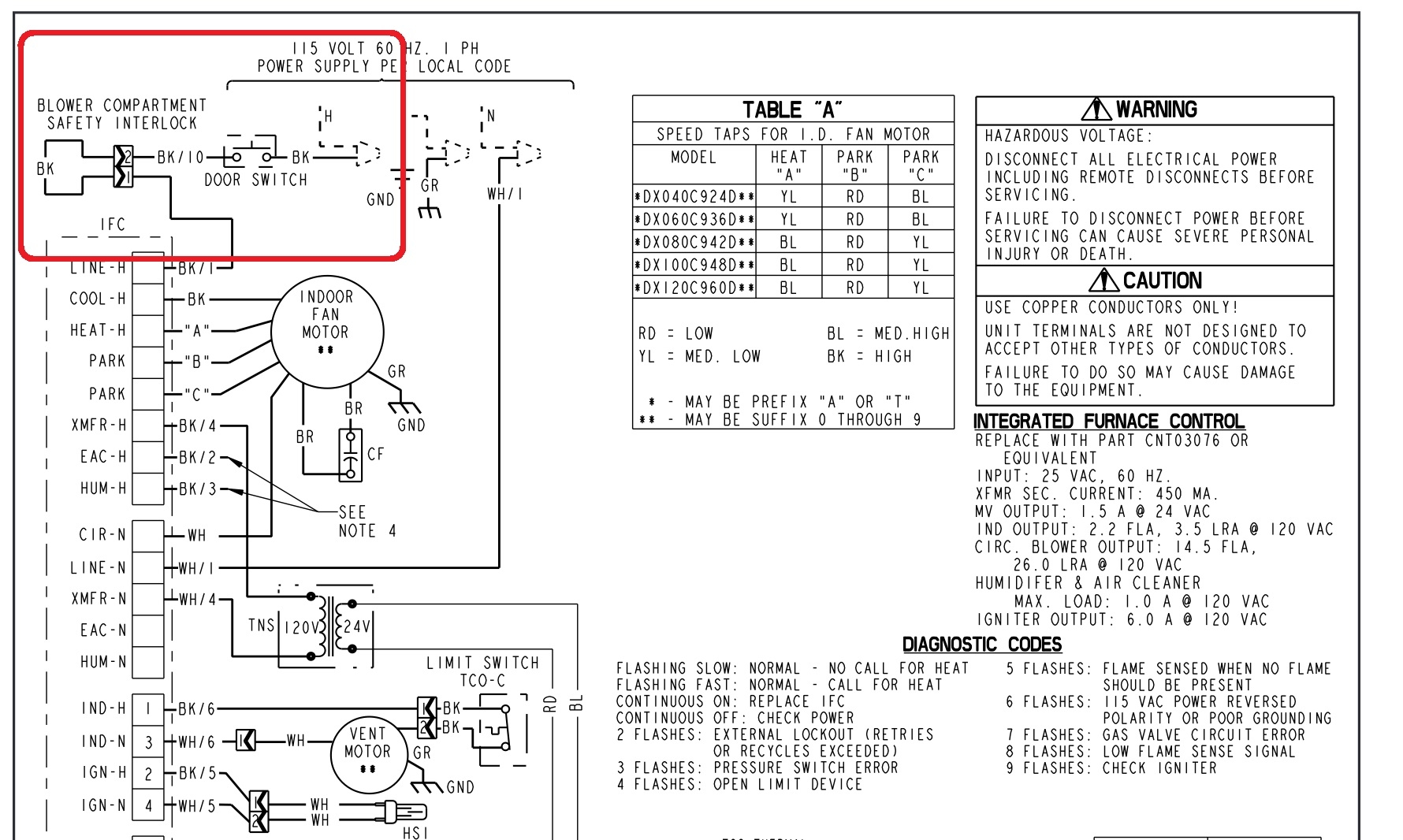 Ge Furnace Blower Motor Wiring Diagram Free Wiring Diagram