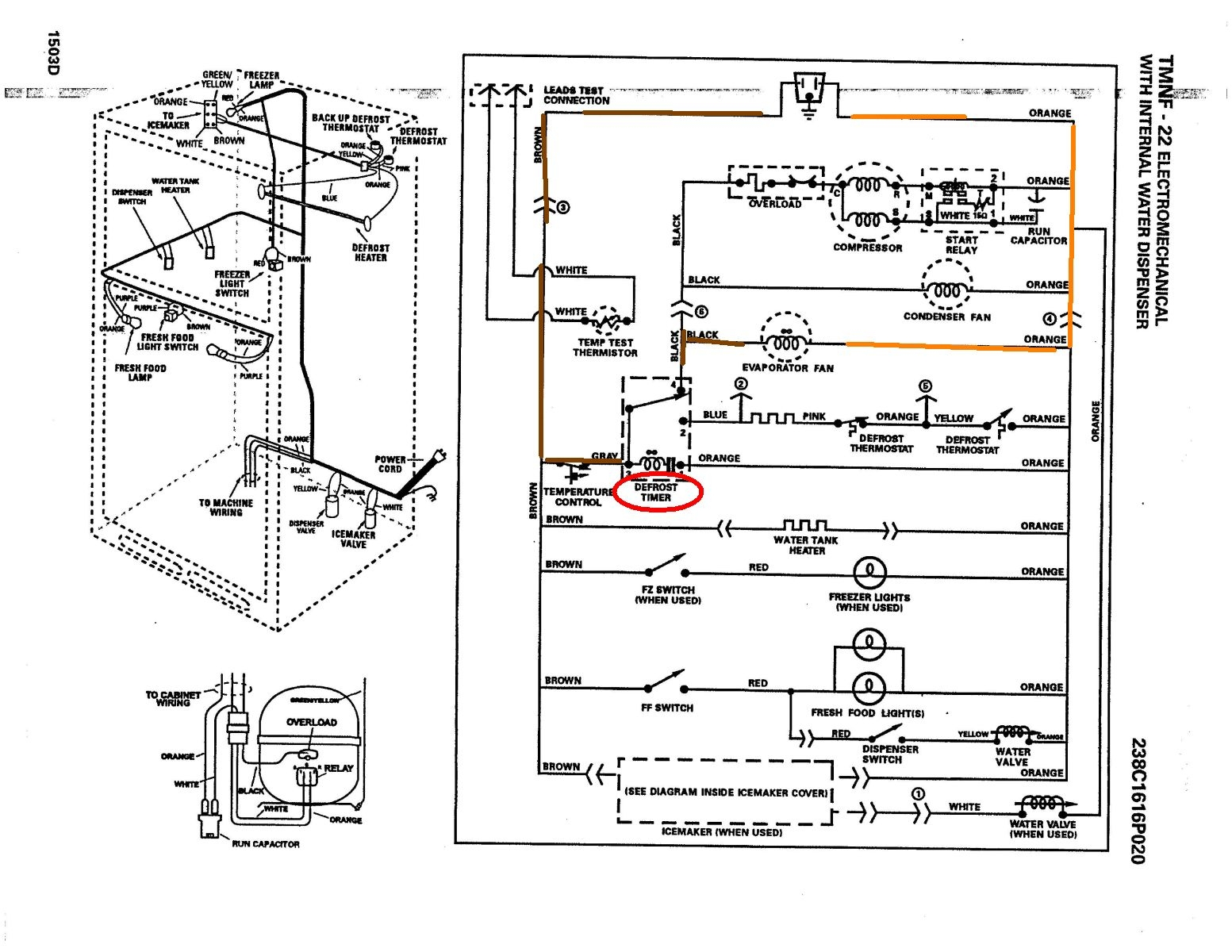 Wiring Diagram For Ge Refrigerator - Wire Diagram Here on